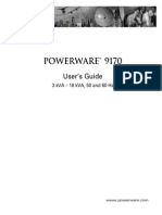 powerware 9170