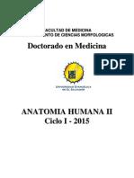 Manual Anatomía humana II . Doctorado en Medicina  Ciclo I - 2015 (1).pdf