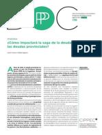 138 DPP PF Cómo Impactará La Saga de La Deuda en Las Deudas Provinciales, Castro y Agosto 2014