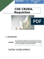 Leche Cruda