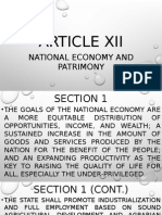 Article 12 of the 1987 Phil. Constitution