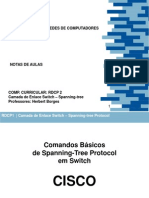 Aula Spanning Tree Protocol Switch Cisco