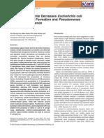 Environmental Microbiology Volume 13 issue 1 2011 [doi 10.1111%2Fj.1462-2920.2010.02308.x] Jin-Hyung Lee; Moo Hwan Cho; Jintae Lee -- 3-Indolylacetonitrile Decreases Escherichia coli O157-H7 Biofilm F.pdf