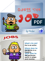 Guess the Job PPT