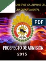 Prospecto ADMISION 2015