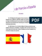 INVASION DE FRANCIA A ESPAÑA