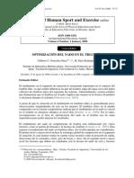 Optimizacion Del Nado en Triatlon