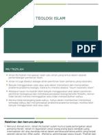 1.Aliran-Aliran Teologi Islam