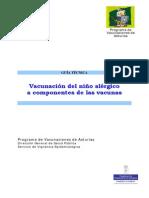Guía de Vacunacion Del Niño Alergico - Dic 2011