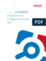 Netwrix Auditor Installation Configuration Guide