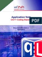 An QL Coding Standards