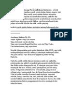 Contoh Pidato Tentang Narkoba Bahasa Indonesia
