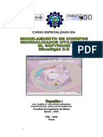 Modelamiento de Cuerpos Mineralizados