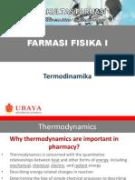 Farmasi Fisika I-Thermodynamics