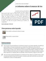¿Cómo escribir un informe sobre el avance de los trabajos_ _ eHow en Español.pdf
