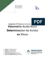 Lab 3 Metodos Analisi Quimico Acidez Total en Vinos