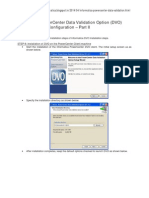 Informatica PowerCenter DVO Installation Part-II