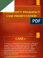 Community Pharmacy Case