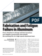 Fabrication and Fatigue Failure in Aluminum