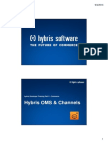 Hybris Developer Training Part II - Commerce - Module 16 - Hybris OMS & Channels