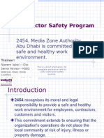 Contractor Safety Program