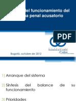 Sistema penal acusatorio 2012
