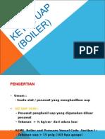 Materi Ketel Uap (Boiler)