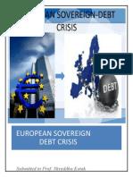 European Sovereign-Debt Crisis Word