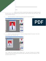 Cara Mudah Mengganti Background Pas Foto