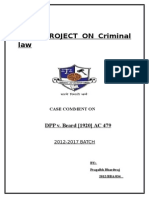 Criminal  Law - DPP v. Beard.docx