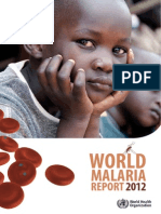 World Malaria Report 2012