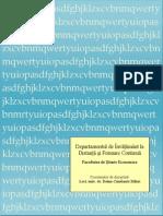 Curs ID Actualizat Matematici Aplicate