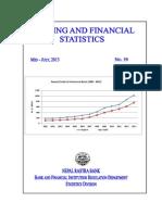 Banking and Financial Statistics--No 59 July 2013 2