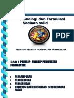 1 Pendahuluan Prinsip-prinsip Pembuatan Farmasetik Sediaan Solid Kisi2