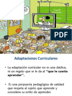 Adaptaciones Curriculares Postitulo 2014 Power Point