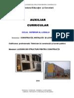 Lucrari de Structuri Pentru Constructii