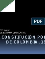 Constitución Política de Colombia Titulo IV - Copia