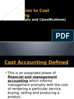01.Introduction to Cost Accounting