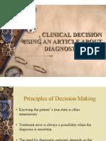 EBM Diagnostic Decision