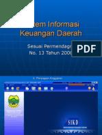 Sistem Informasi Keuangan Daerah