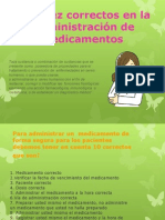 losdiezcorrectosenlaadministracindemedicamentos-131021155106-phpapp01