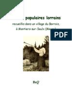 Contes Populaires Lorrains