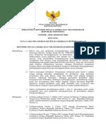 Permen 14-2006 Tata Cara Pelaporan TK