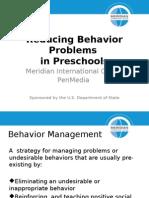 Reducing Behavior Problems - Final
