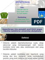 Dystonia Ppt