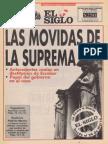El Siglo Del 13 Al 19 de Marzo de 1993