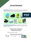 Coal and Petroleum.docx