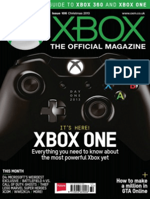 Xbox The Official Magazine Uk Christmas 2013 Porting