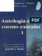 [Antologia Del Cuento Extrano 01] AA. VV. - Antologia Del Cuento Extrano 1 [15253] (r1.0)