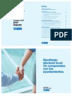 Programa para las Elecciones Municipales del 2015 del Partido Popular